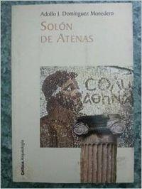 Portada del libro Solón de Atenas