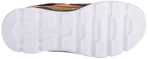 Skechers Basket, Couleur Gris, Marque, modèle Basket Hypno Flash Gris Charcoal/Gold