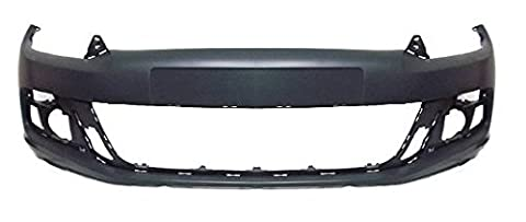 Volkswagen Scirocco 2008-2014 Front Bumper No Wash Jet Holes - Primed (Standard Models)