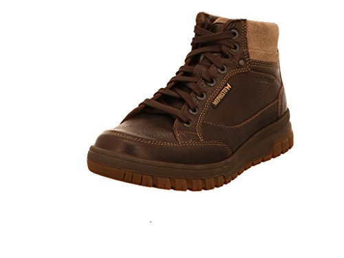 Mephisto Mens Paddy Brown Leather Boots 42.5 EU (Stiefel Mephisto)