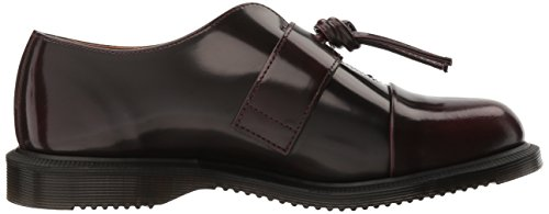 Dr.Martens Womens Eliza Leather Shoes Cherry