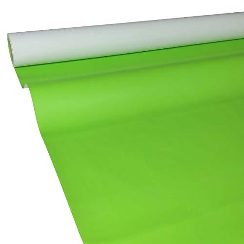 50m x 1,15m JUNOPAX® Papiertischdecke apfel-grün | nass- und wischfest