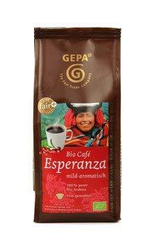 Kaffee aus ökologischem Landbau, Bio Esperanza naturmild, gemahlen, PG=250g