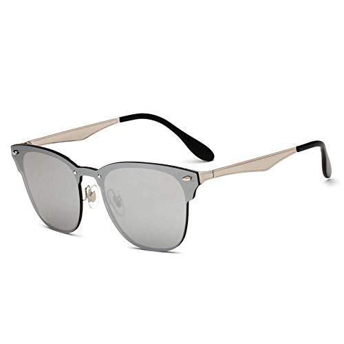 ANSKT Damen Sonnenbrille Retro Einteiler Nieten Sonnenbrille Herren u
