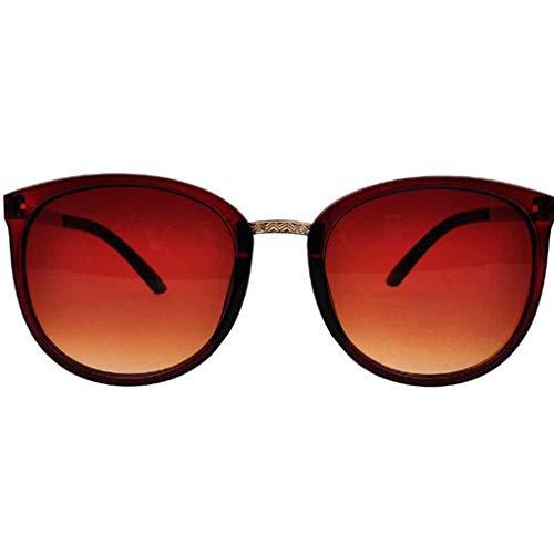 Junecat Frauen-Retro- Art und Weise UV400 Schutz Sonnenbrille Harz-Objektiv PC Metallrahmen Sonnenbrillen