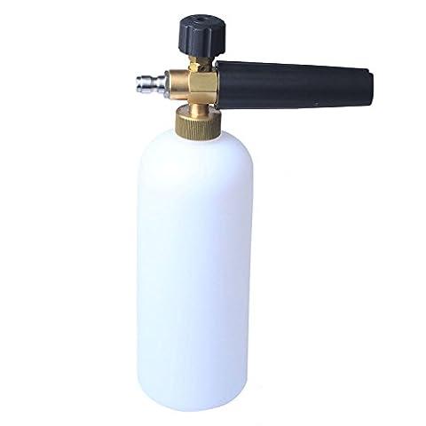 Jinkang Pressure Washer Jet Wash 1/4 Quick Release Adjustable Snow Foam Lance by Jinkang