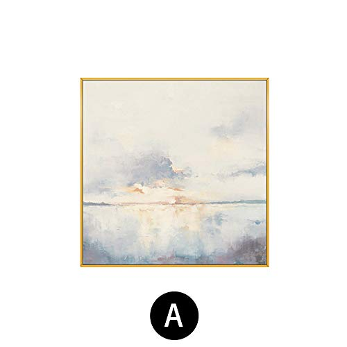 fengjiaren pittura ad olio dipinto a mano su tela,alba sul mare,per la casa parete decorazione arte pittura cafe bar salotto camera da letto