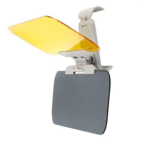 Auto-Sonnenblende - 2-in-1 Blendschutz TACVISOR Tag und Nacht Auto-Visier-Verlängerung - HD Tag Nacht Fahren Visier Blendschutz Sonnenschutz getönte Linse