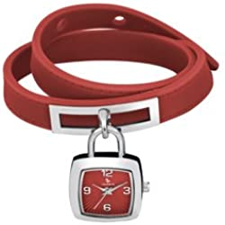 Laurens -Armbanduhr Analog Quarz 027021AA_Rosso