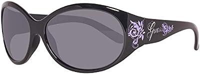 Guess Sonnenbrille GUT103 56C33 Gafas de sol, Negro (Schwarz), 56 Unisex Niños