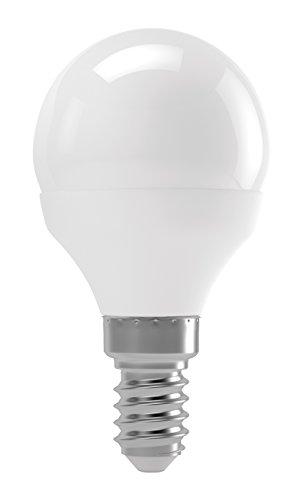 EMOS LED Lampe Mini Globe G45 / LED Warmweiß Lampe E14 / 8W / Energieklasse A+ / Ersetzt 54 W Glühbirne/Lichtleistung 700 Lumen/Warmweiss: 3000 Kelvin / 20000 Stunden Lebensdauer 700 Lumen Led