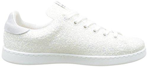 victoria Damen 112558 Hausschuhe Weiß (Blanco)