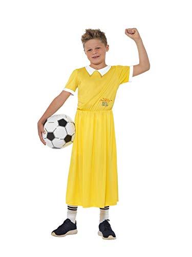 SMIFFY 'S 40206t David Walliams Deluxe der Junge im Kleid Kostüm, gelb, Tween Größe