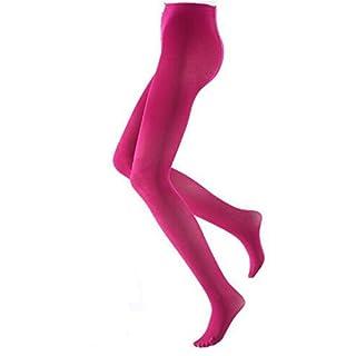 Libella bunte Damen Strumpfhose Mikrofaser 80 DEN in Klassischen und Trendfarben Pink L