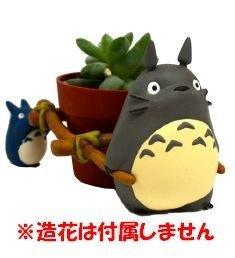 Totoro Blumentopf Mini zum Anime Studio Ghibli 8x6x5,5cm Resin