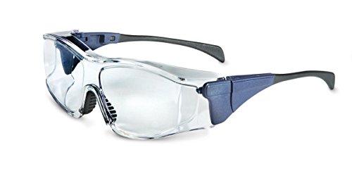 Honeywell 1028501Overspec klar Nebel Ban Medium Schutzbrille, Blau (10Stück)