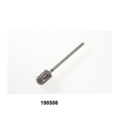 PROMED 198586 Diamant-Bit, Zylinder rund, klein, grob, Hornhautschleifer