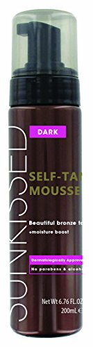Sunkissed Instant Self Tanning Mousse 200ml - Dark Bronze (Mousse Tanning Self Instant)