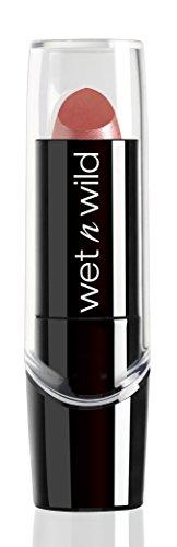 Wet n Wild - Silk Finish Lipstick- Pflegender Lippenstift mit Aloe Vera und Vitamine A und E, Dark Pink Frost, 1 Stk. 20g -