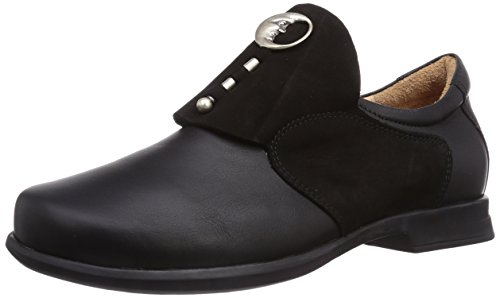 Think Damen Pensa_888002 Slipper, Schwarz 00), 38 EU