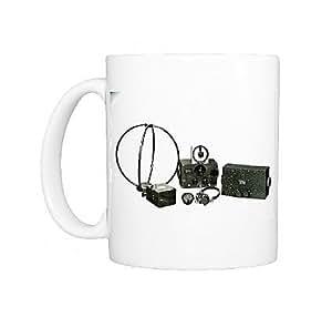 Mug Photo de matériel Radio émetteur-récepteur