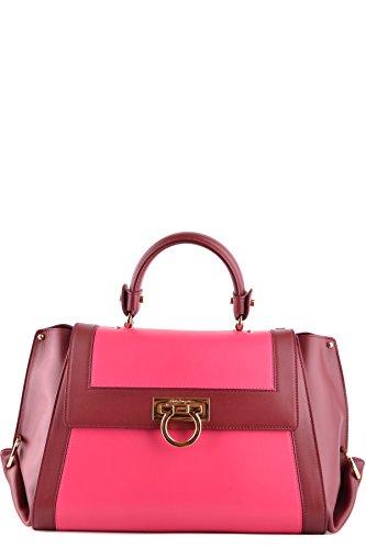 Salvatore-Ferragamo-Womens-MCBI367001O-BurgundyFuchsia-Leather-Handbag