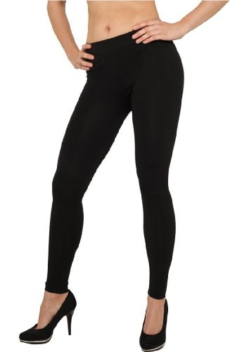 Urban Classics Ladies Pa, Leggings Femme Noir
