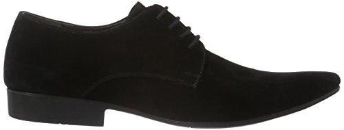 Tamboga 8102-V, Chaussures à Lacets Homme Noir (01)