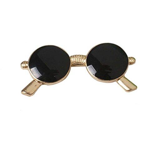 Emorias 1 Stück Broschen für Damen Sonnenbrille Kleid Dekoration Hochzeit Pin Kleidung Männer Brosche Schmuck Accessoires
