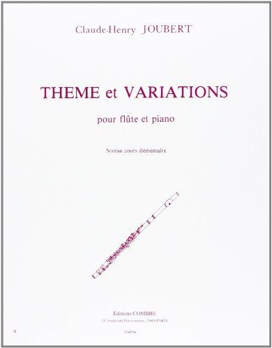Thème et variations pour flute et piano
