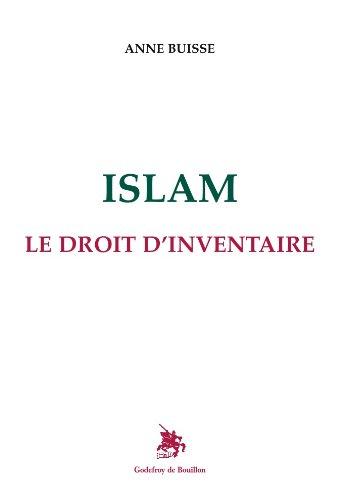 Islam Le droit d'inventaire