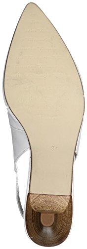 Tamaris Schuhe 1-1-29608-28 bequeme Damen Sling, Sommerschuhe für modebewusste Frau, White