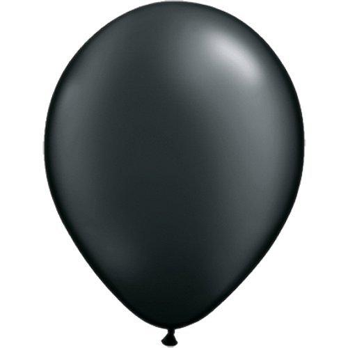 0 cm | Freie Farbauswahl | 23 Ballon Farben | partydiscount24® (Schwarz) (Rosa Und Schwarze Ballons)
