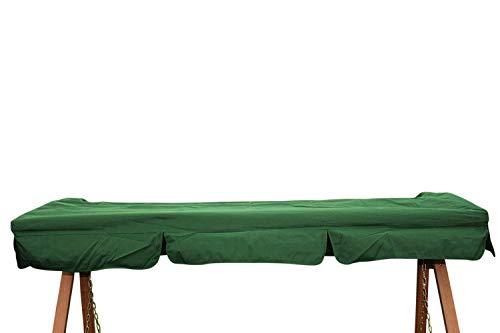 Ersatzdach für 3-Sitzer Garten- oder Hollywoodschaukel in Grün - IMC459 grün