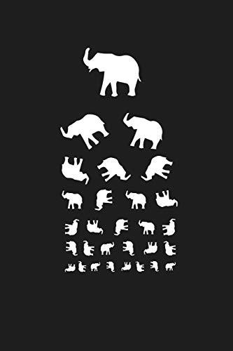Tumbling Elephants: Animal Eye Chart