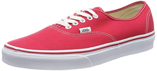Vans AUTHENTIC, Unisex-Erwachsene Sneakers, Rot ((Mono) sun drie / DIU), EU 44.5 (UK 10)