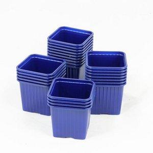 Godet pour semis 8 x 8 x 7 cm BLEU-F (x 50)