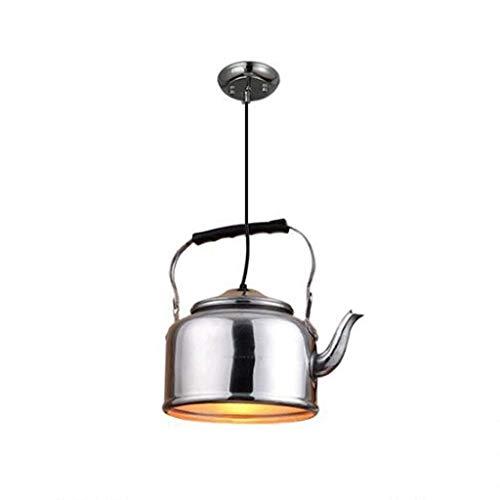 XAJGW Pendelleuchten Kreative Wasserkocher Kronleuchter Persönlichkeit Restaurant Hotel Teehaus Hot Pot Shop Aluminium Kronleuchter Aluminium-hot Pot