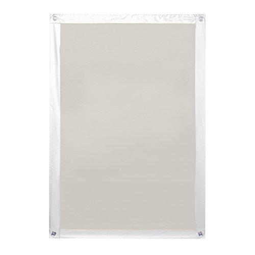 Lichtblick SDF.M06.05 Dachfenster Sonnenschutz Haftfix, Ohne Bohren Beige 59 cm x 91,5 cm (B x L) für M06
