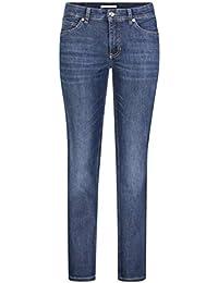 MAC Jeans Damen Melanie Straight Jeans