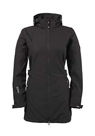 Killtec Damen Softshell Soft Shell Mantel Kimboa, schwarz, Größe 36 bis 46, schwarz, Größe 36
