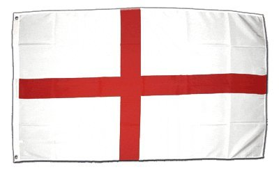 XXL Flagge Fahne England St. George 150 x 250 cm (George Englische Flagge)