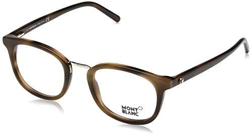 Montblanc Herren Optical Frame Mb0678 052 48 Brillengestelle, Braun,
