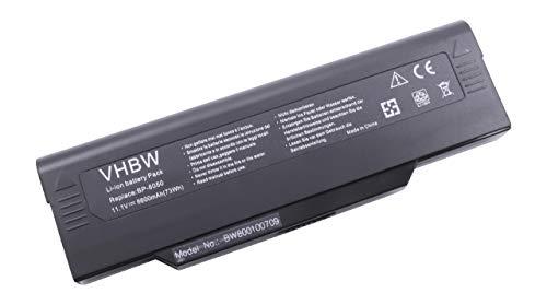 VHBW Batterie pour ordinateurs portables Medion Argenté 11,1 V 6 600 mAh