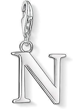 Thomas Sabo Damen-Charm-Anhänger N Buchstabe Charm Club 925 Sterling Silber 0188-001-12