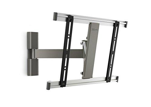Vogel's THIN 225 TV-Wandhalterung für 66-140 cm (26-55 Zoll) Fernseher, 120° schwenkbar und neigbar, max. 18 kg, Vesa max. 400 x 400, grau