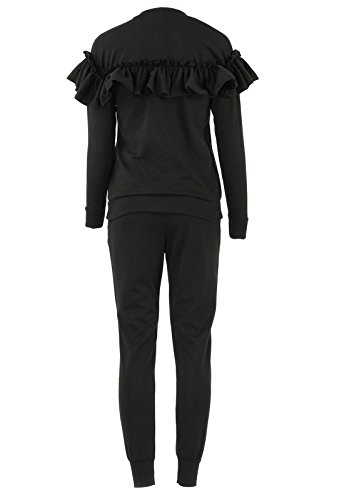 Yes Gameon - Survêtement - Manches Longues - Femme * taille unique Noir