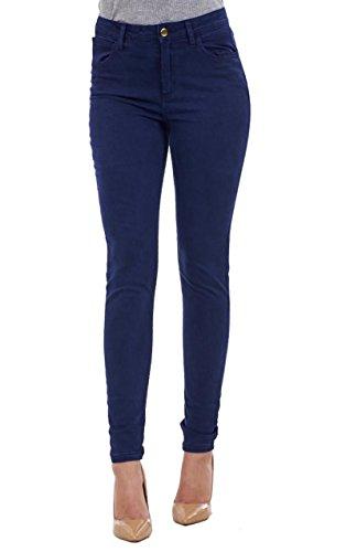 Ex Highstreet Damen Jeanshose blau dunkel 36 Gr. 36, Indigo