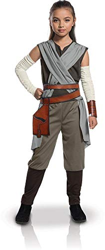 Star Kostüm Wars Rey Mädchen - Rubie's Offizielles Star-Wars-Kostüm