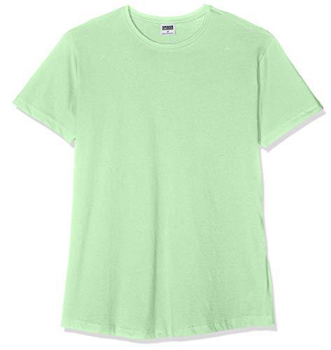Urban Classics Herren T-Shirt Shaped Long Tee TB638, Grün (neomint), 4XL